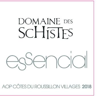 Domaine des Schistes, Côtes Roussillon Essencial, 2018