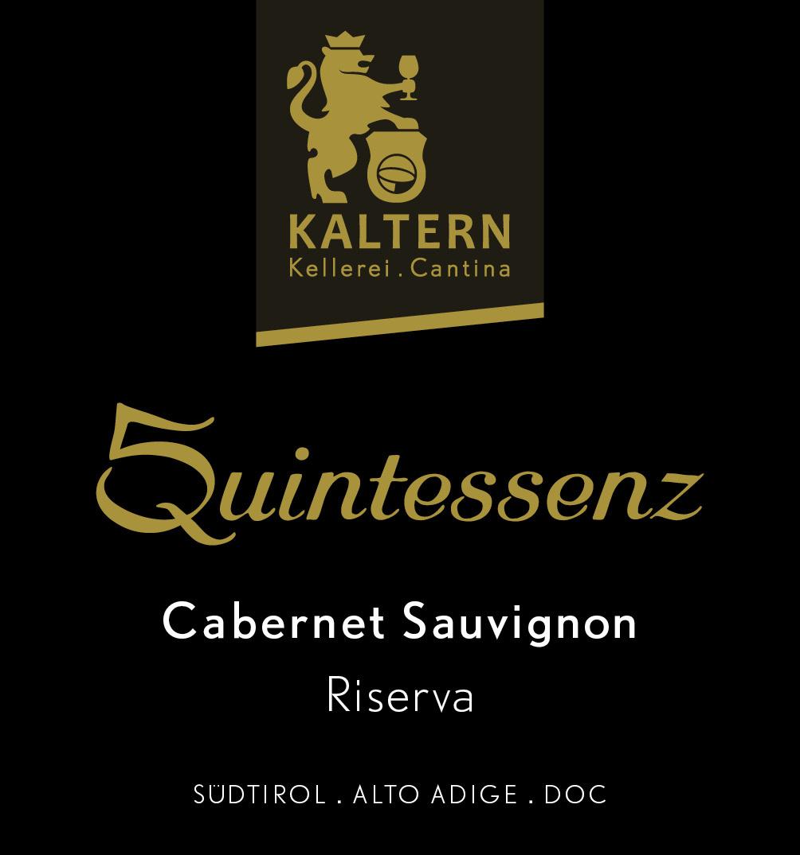 Kellerei-Cantina Kaltern, Cabernet Sauvignon Riserva Quintessenz, 2015