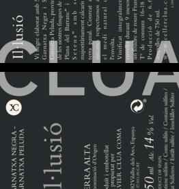 Clua Xavier, Garnatxa Negre Il.lussio, 2017