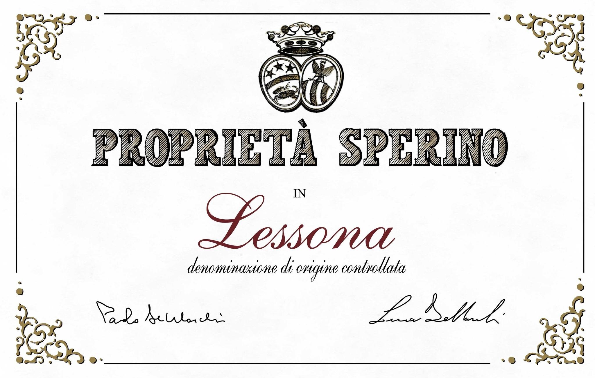 Proprietà Sperino, Lessona, 2013