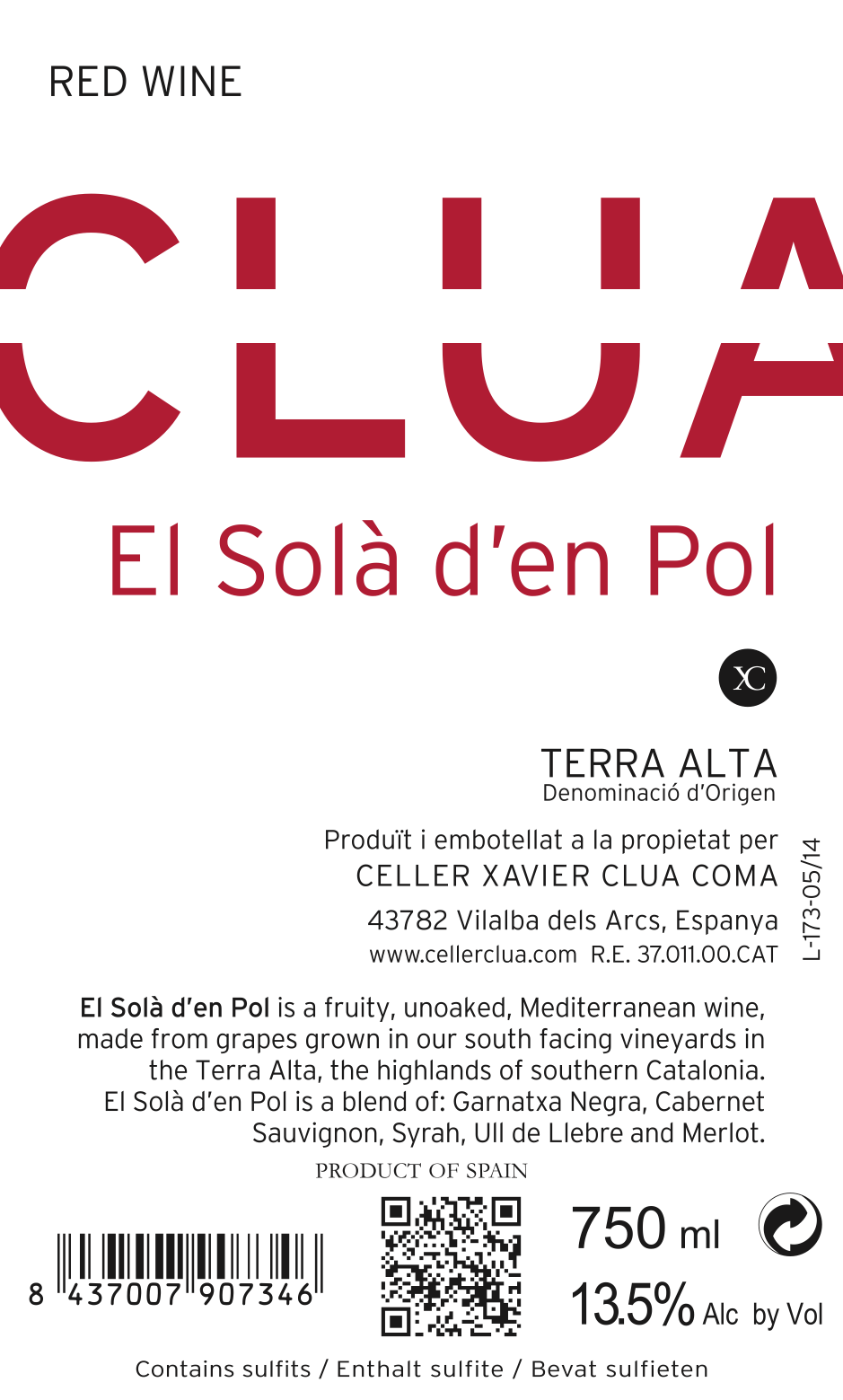 Clua Xavier, El Sola d'en Pol Negre, 2018