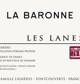 La Baronne, Corbières Les Lanes, 2017
