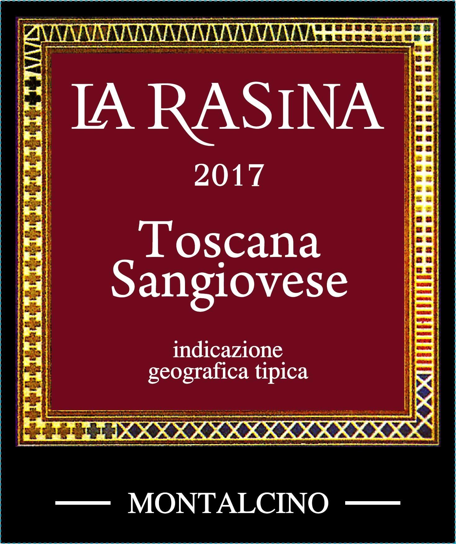 La Rasina, Toscana Sangiovese, 2018
