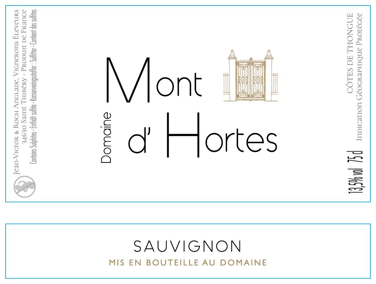 Mont d'Hortes, Côtes de Thongue Sauvignon, 2018