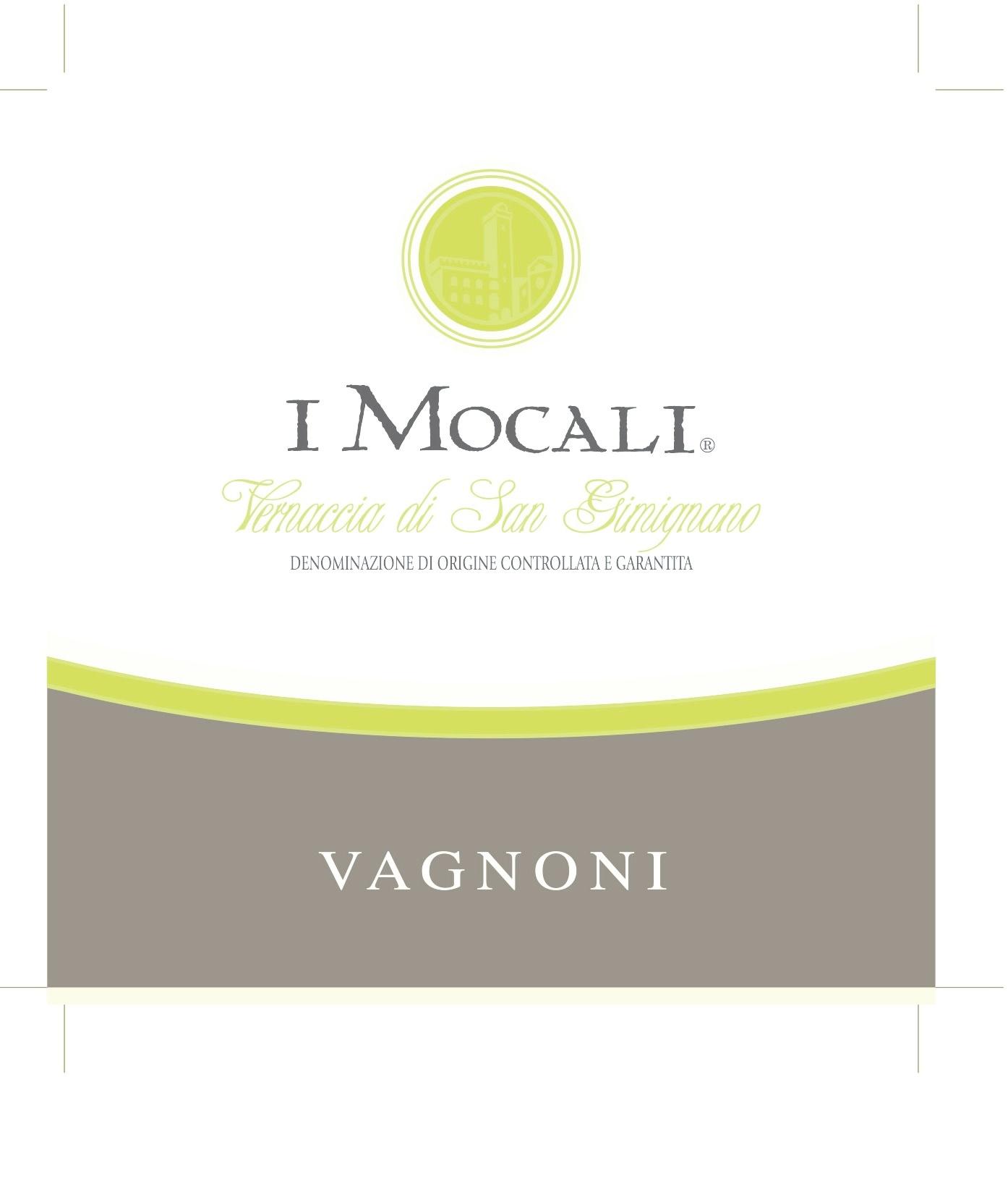 Fratelli Vagnoni, Vernaccia di San Gimignano Riserva I Mocali, 2016