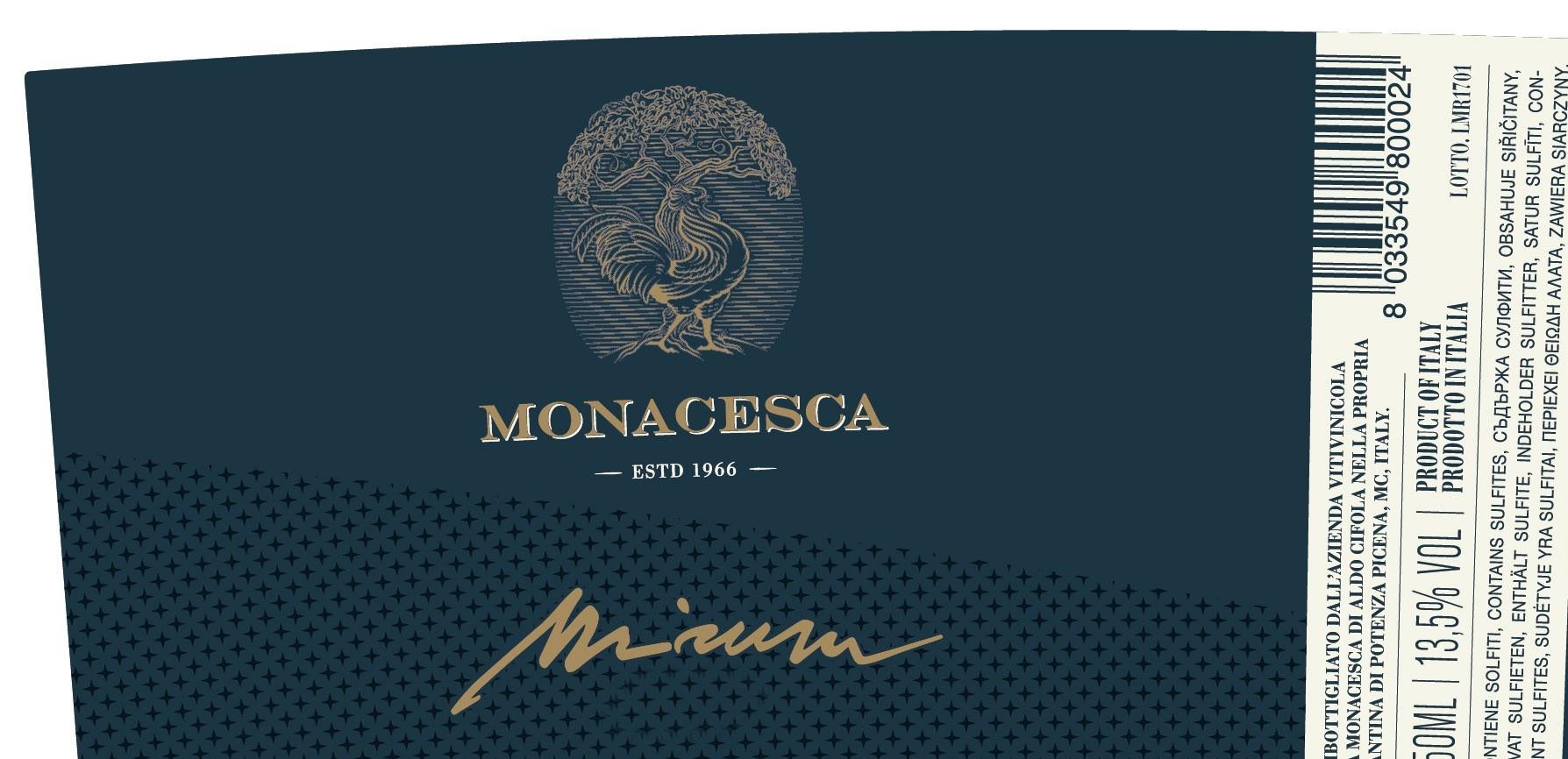La Monacesca, Verdicchio di Matelica Riserva Mirum, 2018