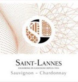Saint-Lannes, Côtes de Gascogne Sauvignon-Chardonnay, 2019