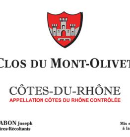 Clos du Mont Olivet, Côtes-du-Rhône wit, 2019