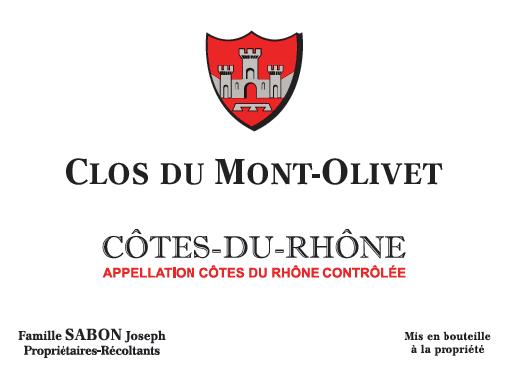 Clos du Mont Olivet, Côtes du Rhône wit, 2019