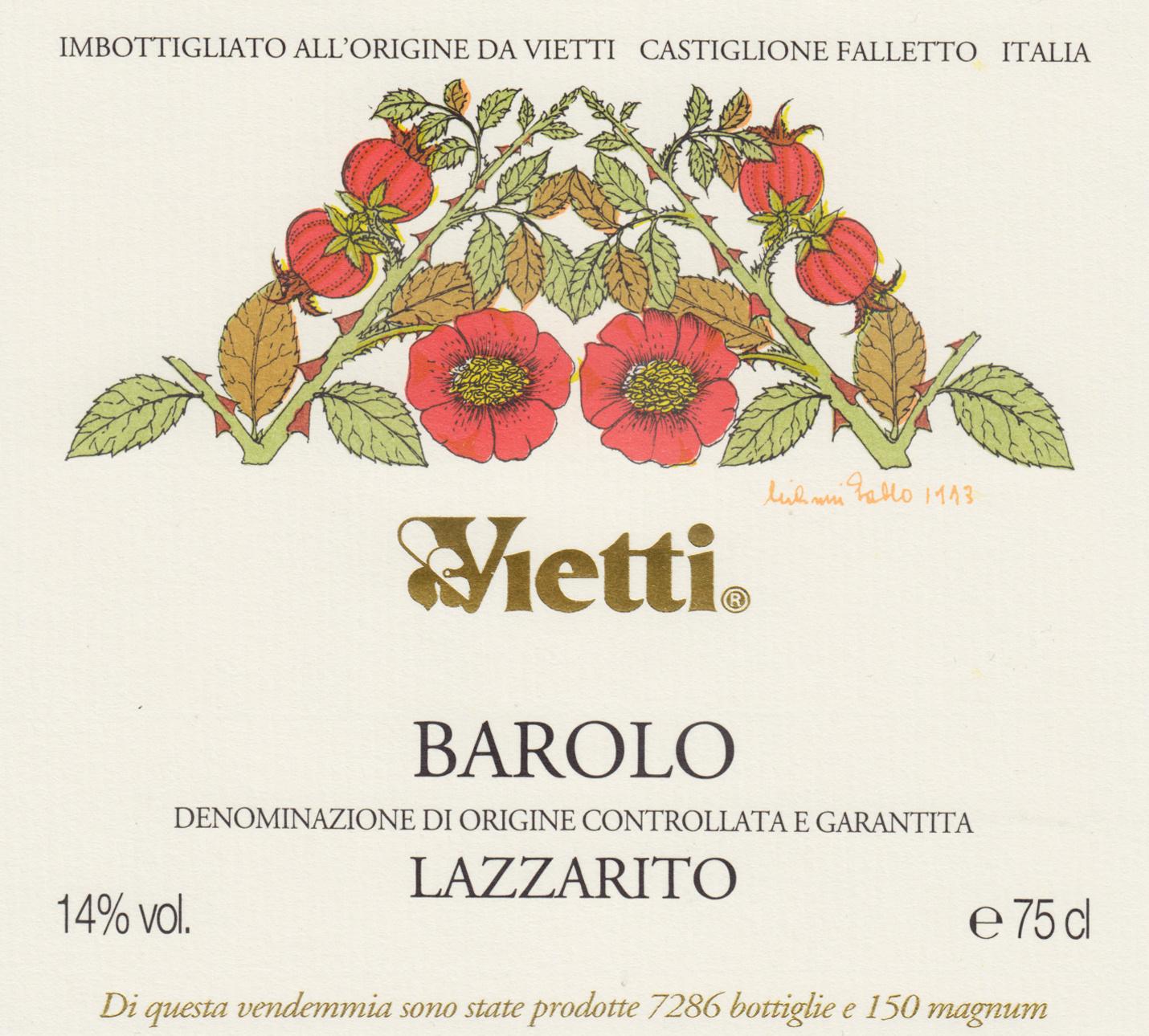 Vietti, Barolo Lazzarito, 2016