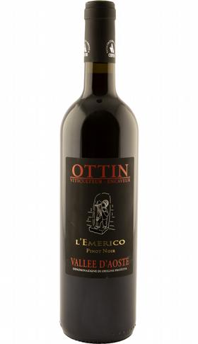 Elio Ottin, Valle d'Aosta Pinot Noir L'Emerico, 2017