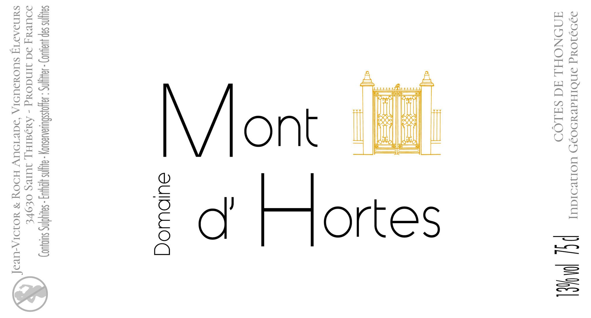 Mont d'Hortes, Côtes de Thongue 4 Saisons rosé, 2020