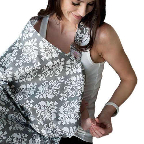 Udder Covers Voedingsdoek Grace (grijs)