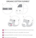 Carriwell Carriwell Flexibelt- Broekverbreder - biokatoen