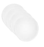 BreastPads Wasbare Zoogcompressen - Wit - 4 stuks