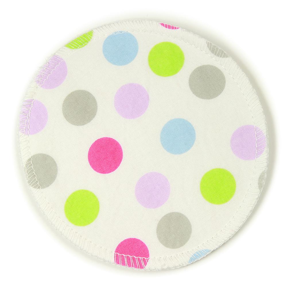 BreastPads Wasbare Zoogcompressen - Stip - 4 stuks