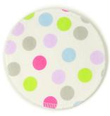 BreastPads Wasbare Zoogcompressen - Stippen en Wit - 8 stuks