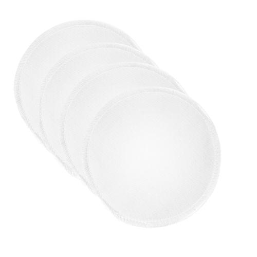 BreastPads Wasbare Zoogcompressen - Wit - Zwart- Honey- 12 stuks  - Copy