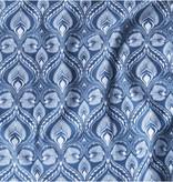 Udder Covers Voedingsdoek James (blauw/wit)