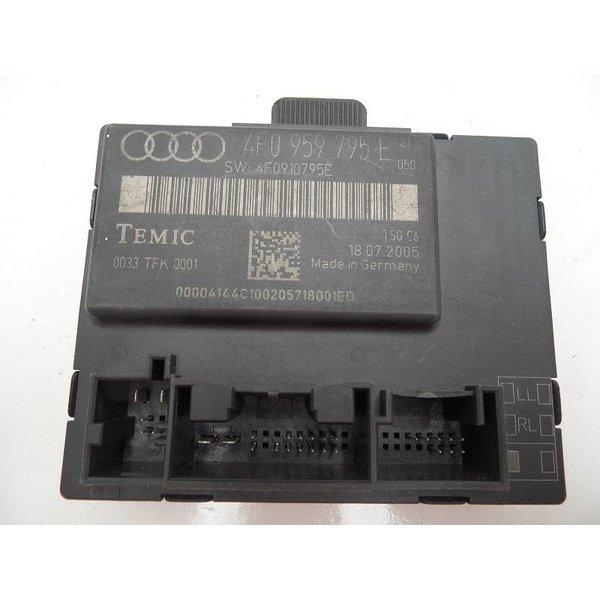 4F0959795E Portier Regelapparaat Links Achter Audi A6 4F