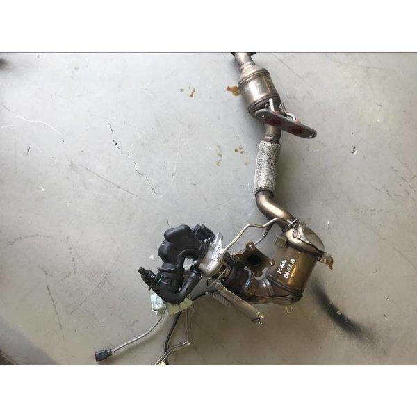 Set Turbolader 1.4 TSi VAG Met Katalysator