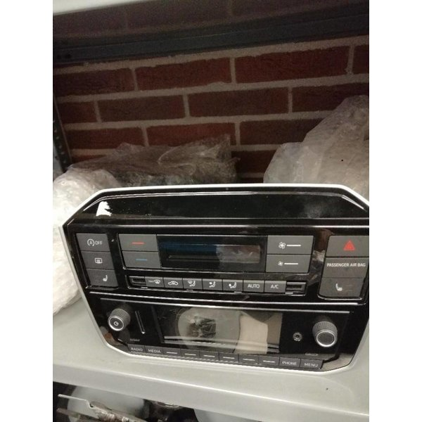 VW Up Facelift Radio CD Beeldscherm Kapot
