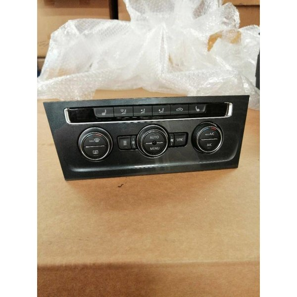 VW Golf 7 Facelift Climate Control Unit