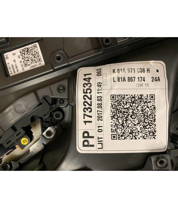 Audi Q2 Deurpaneel Rechts Voor 81B867106