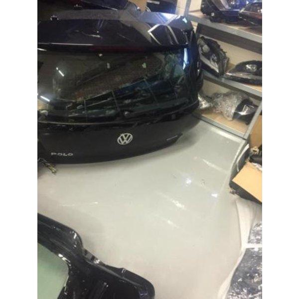 VW Polo 6C 6R Achterklep Compleet Met Raam Zwart