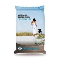 Healthy Dog natuurlijke hondenvoeding Chicken & Rice 15 kg.