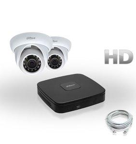 Dahua Compleet HD IP Pakket 2 Camera