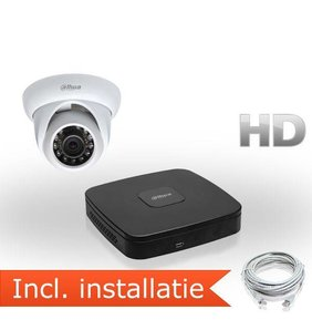 Dahua HD IP Pakket 1 Camera Inclusief Installatie