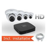 Dahua HD IP Pakket 4 Camera's incl. installatie