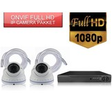 ONVIF 2 FULL HD bewakingscamera pakket