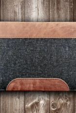 MacBook Pro / Air case leather felt, sleeve