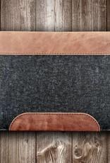 MacBook Pro / Air Tasche Leder-Filz-Hülle, Tasche