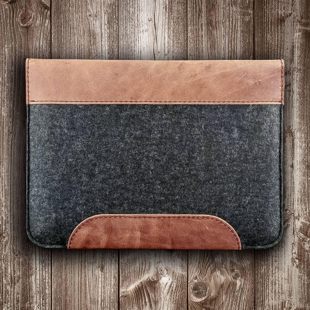 MacBook Pro Tasche Leder Filz Ledertasche
