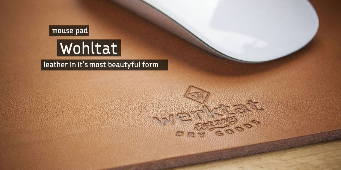 mousepad leather