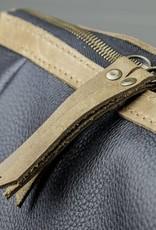 Backpack leather for women in black: HUKKEPAKK