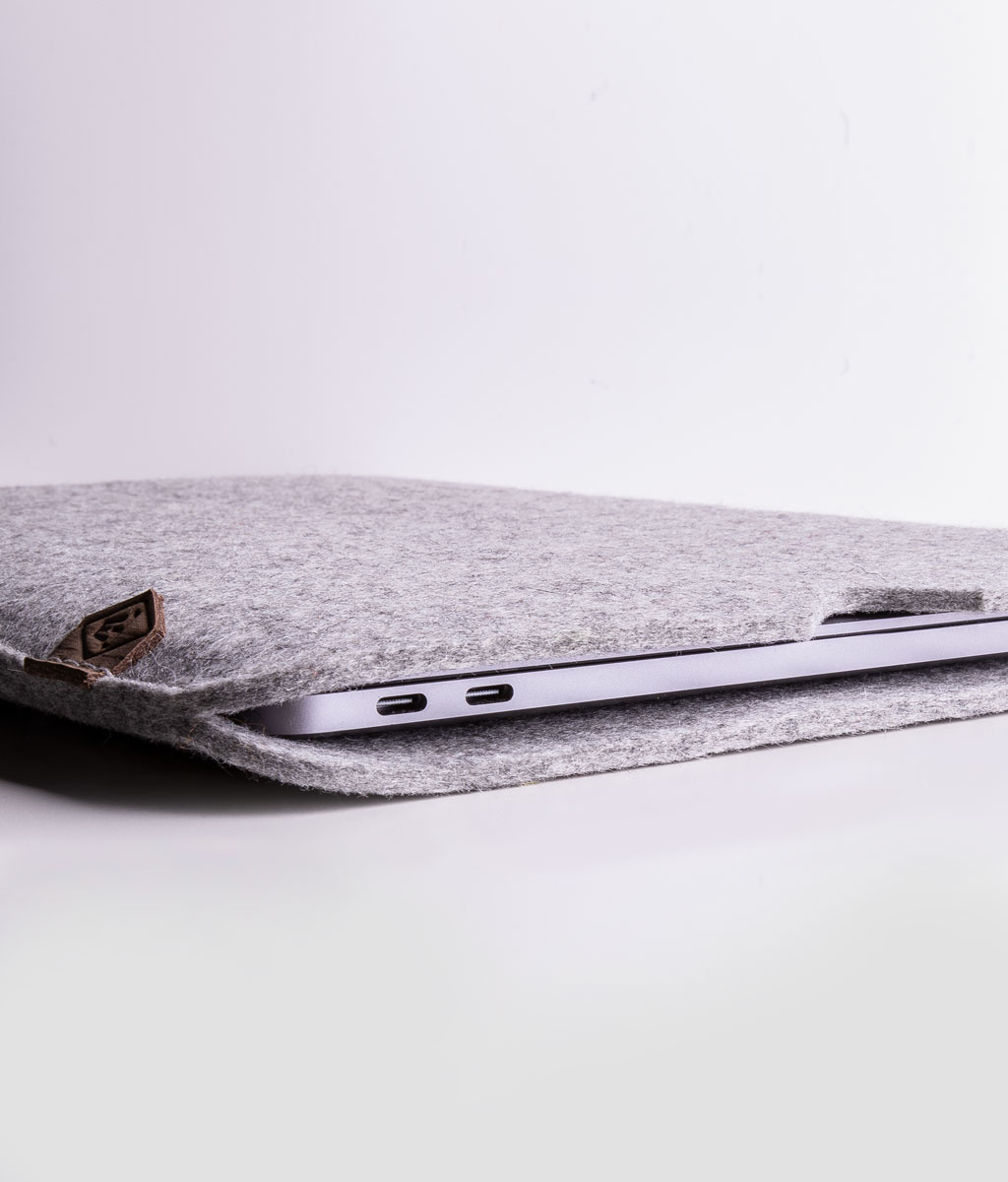"""MacBook Filzhülle SOFTWERK die Hülle aus Filz passend gefertigt für MacBook Pro 13"""", 16"""" oder MacBook Air"""