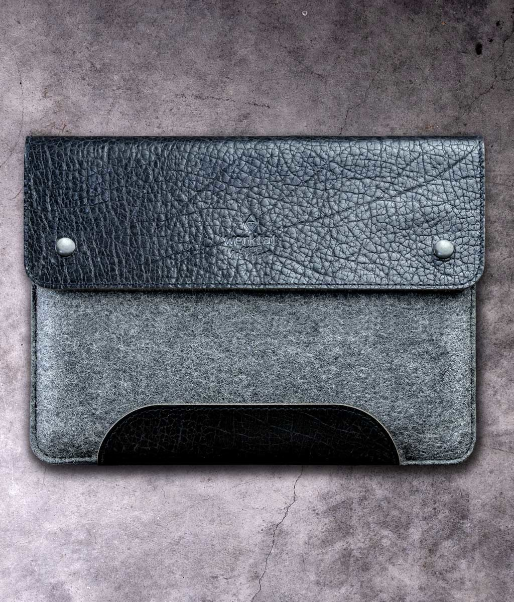 MacBook Pro / Air 13 14 16 case leather felt sleeve SCHLIESSFACH suitable crafted for MacBook
