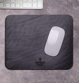 """""""Wohltat"""" leather mousepad black"""