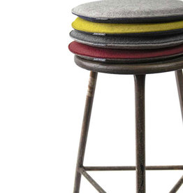 felt seat cushions round , 100% virgin wool