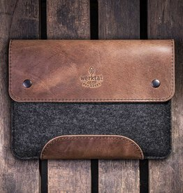 """Werkzeugtasche"" for iPad Pro, Air case leather felt, sleeve"