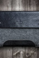 Surface Pro 7, X, Laptop 4, Book 3, Go 2 case leather felt sleeve SCHLIESSFACH suitable crafted for Microsoft Surface