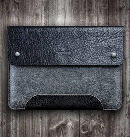 SCHLIESSFACH für Surface Pro 6, 7, X, Laptop 3, Book 2, Go Tasche Leder Filz