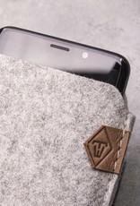 Samsung Galaxy S10, Plus, S10e, S9 Filzhülle SOFTWERK 2.0, Filz Hülle passend gefertigt für Samsung Smartphone