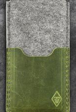 Galaxy S20, S20+, NOTE20 Ultra felt leather sleeve, phone case SMARTWERK