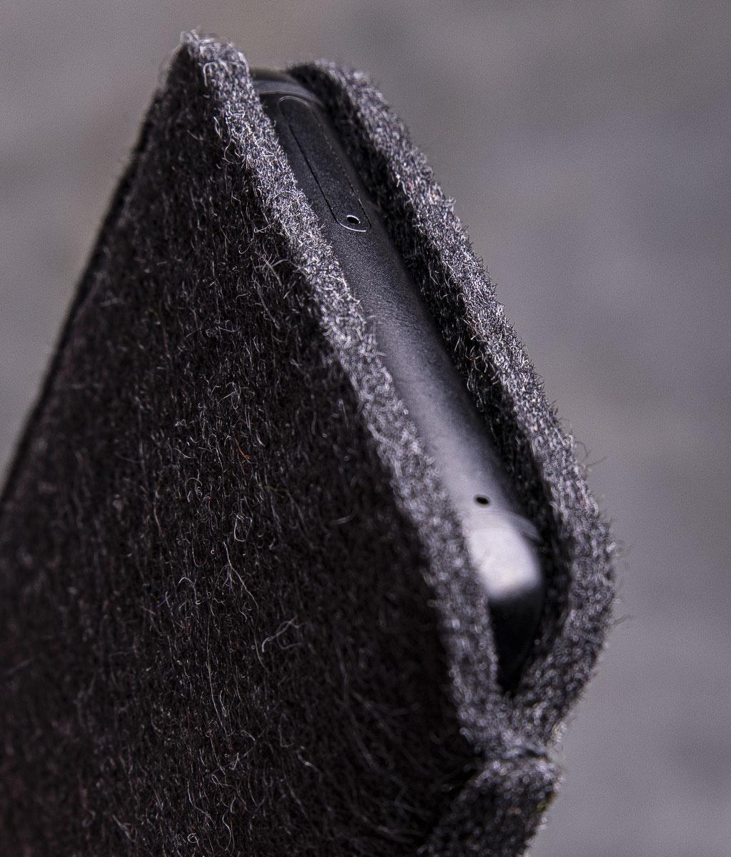 Galaxy S21, S21+, S21 Ultra (5G)  felt leather sleeve, phone case SMARTWERK