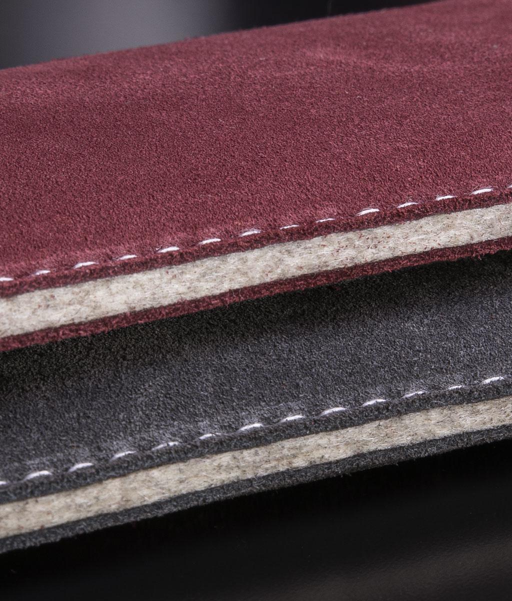 Galaxy S10, S10 Plus, S10e suede leather sleeve SCHUTZMASSNAHME